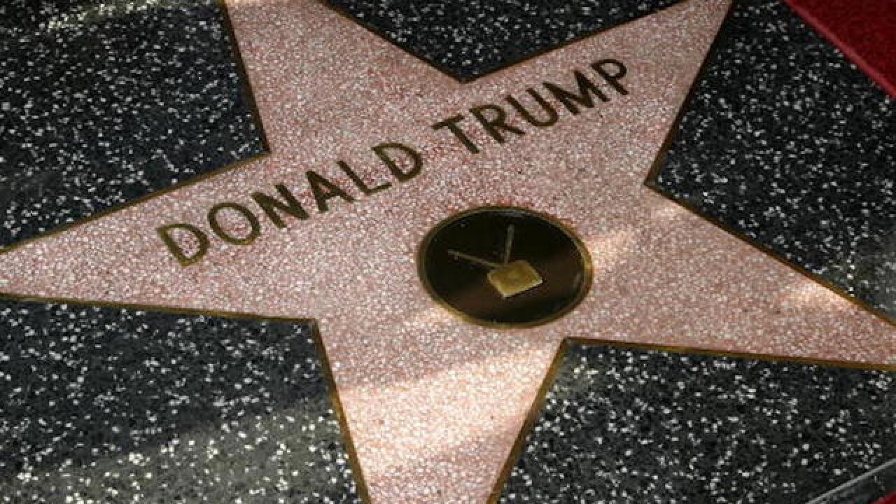 Man charged with destroying Trump's Hollywood star