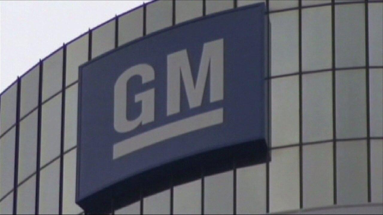 GM General Motors headquarters file photo