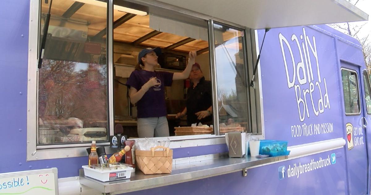One-of-a-kind food truck is back after devastating engine fire