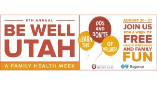 Dr. Oz and FOX 13 personalities invite you to Be Well Utah on August 27