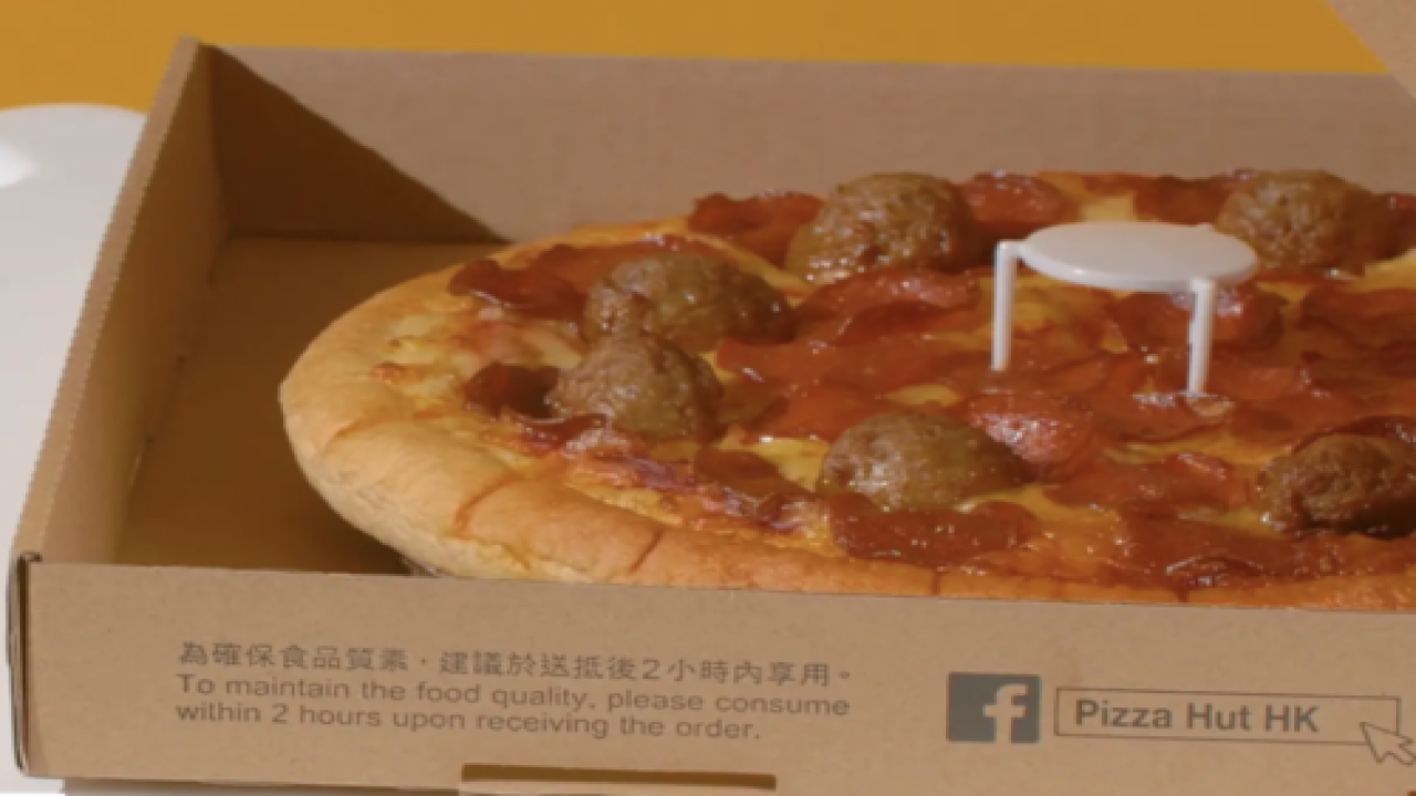 Ikea And Pizza Hut Teamed Up To Turn Those Tiny Pizza Box 'tables' Into Real Furniture