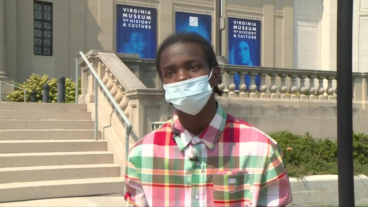 Lamarion Eubanks, an 11th grader at John Marshall High