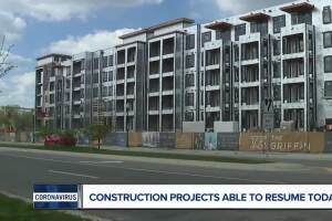 Commercial and real-estate construction resumes