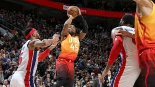 Donovan Mitchell scores 23 as surging Jazz beat Pistons