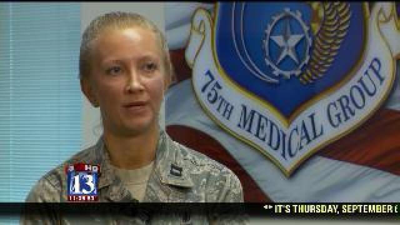 Nurse honored by Air Force for actions in Afghanistan