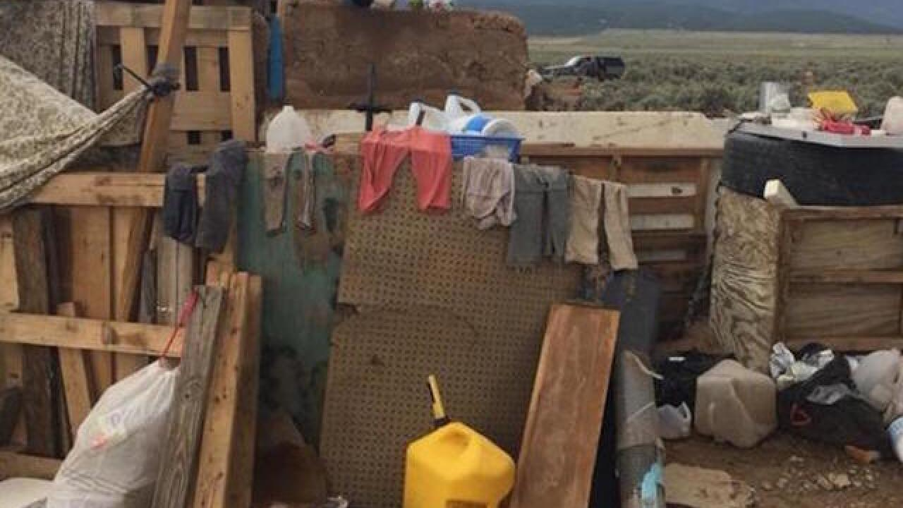 Remains of young boy found during search of New Mexico compound where 11 other children were found