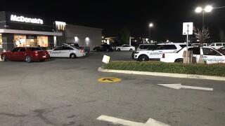 Large KCSO presence at McDonald's on Merle Haggard Dr.