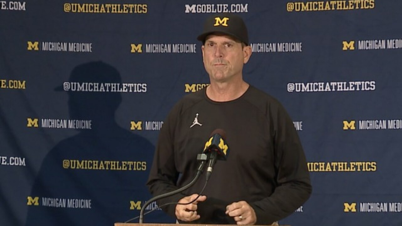 WATCH: Jim Harbaugh's full press conference before Michigan plays Notre Dame