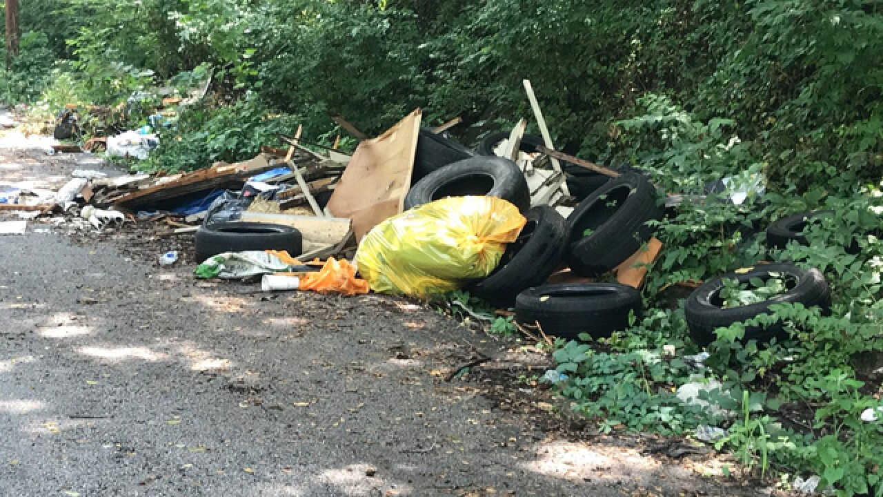 Kansas City creates hotline to curb illegal dumping