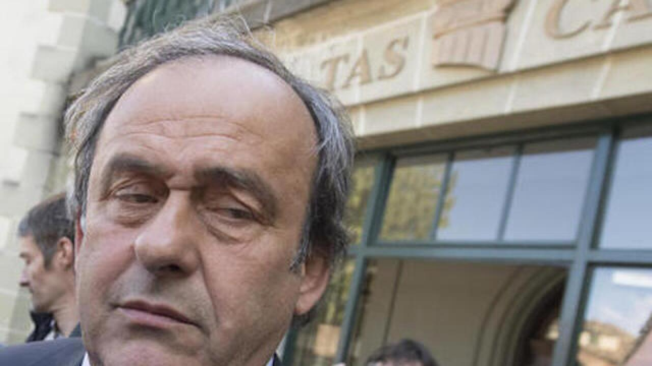 Platini to resign after CAS imposes 4-year ban from soccer