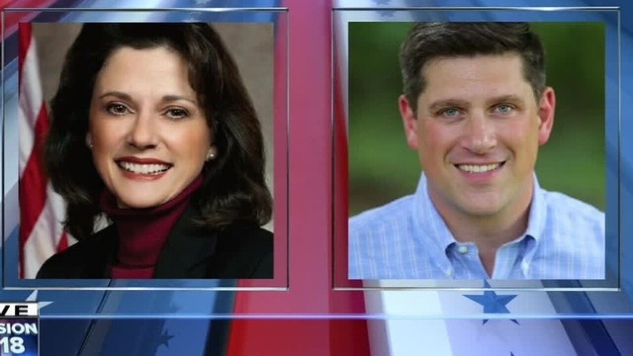 Kevin Nicholson and Leah Vukmir are in a closely contested primary