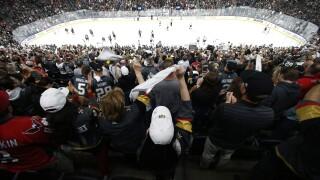 Filing The Seats Hockey