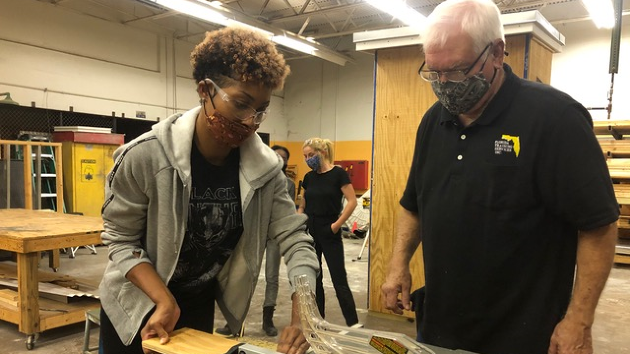 Palm Beach County School District offers free programs for adults to learn vocational skills that are currently in high demand.