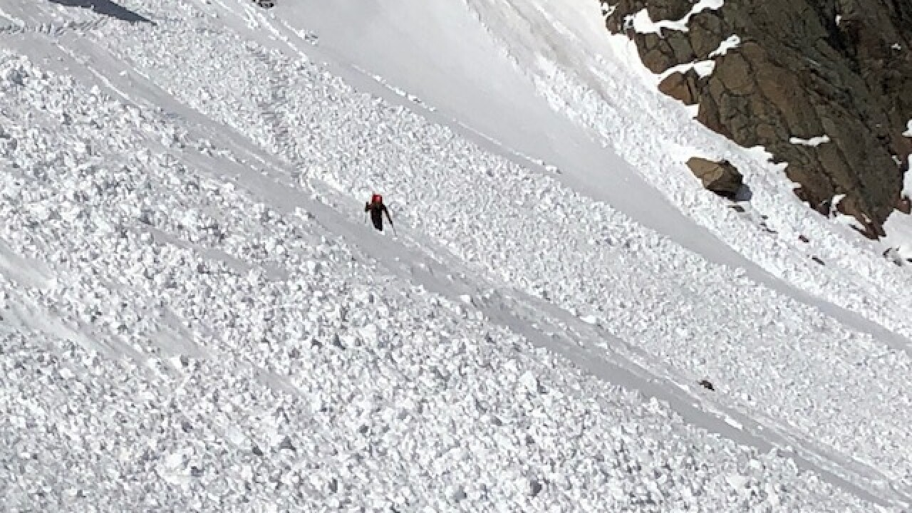 Rocky Mountain National Park May11 and May 12 avalanche