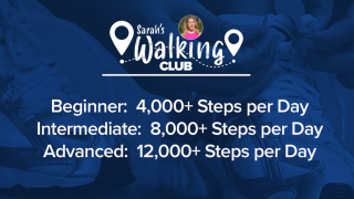 Sarah's April Walking Club Challenge: What you need to know