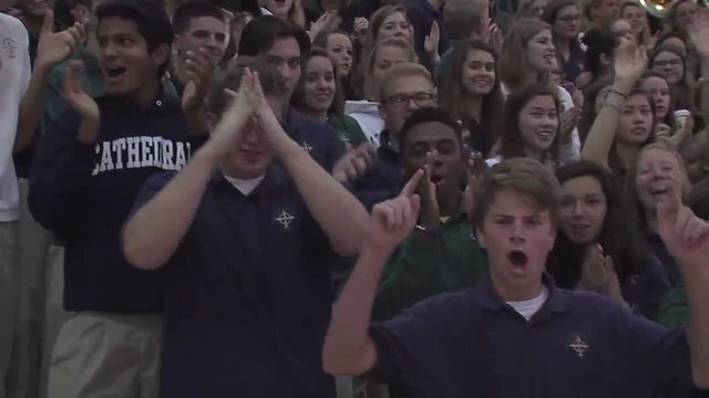 PHOTOS: Friday Football Frenzy at Cathedral High School