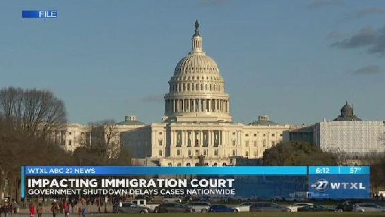 Government shutdown delaying local immigration cases