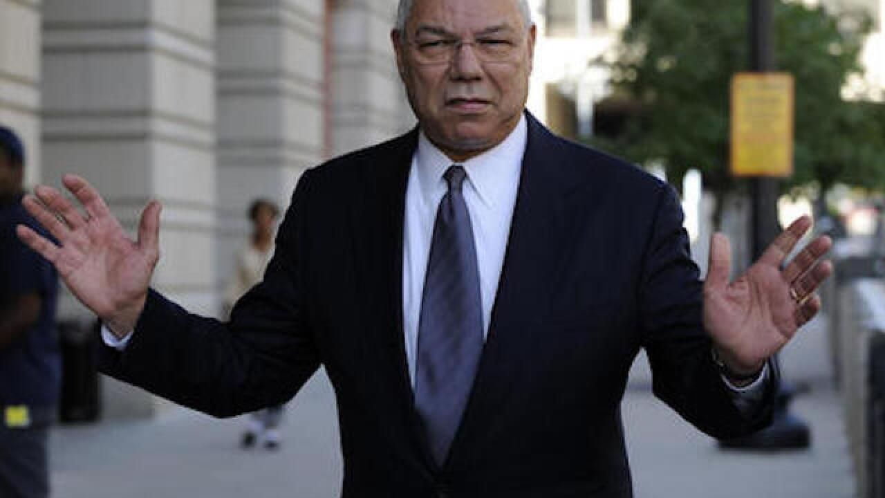 Colin Powell told Clinton of his use of a private email at State