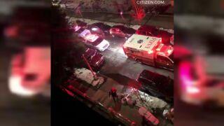 Teen shot in leg in Brooklyn drive-by shooting