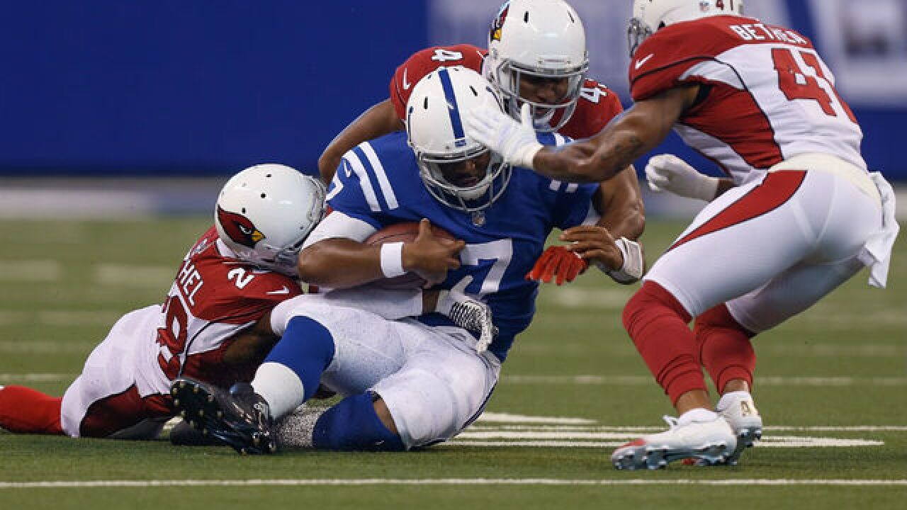 Colts buckle down in attempt to dig out of another 0-2 start