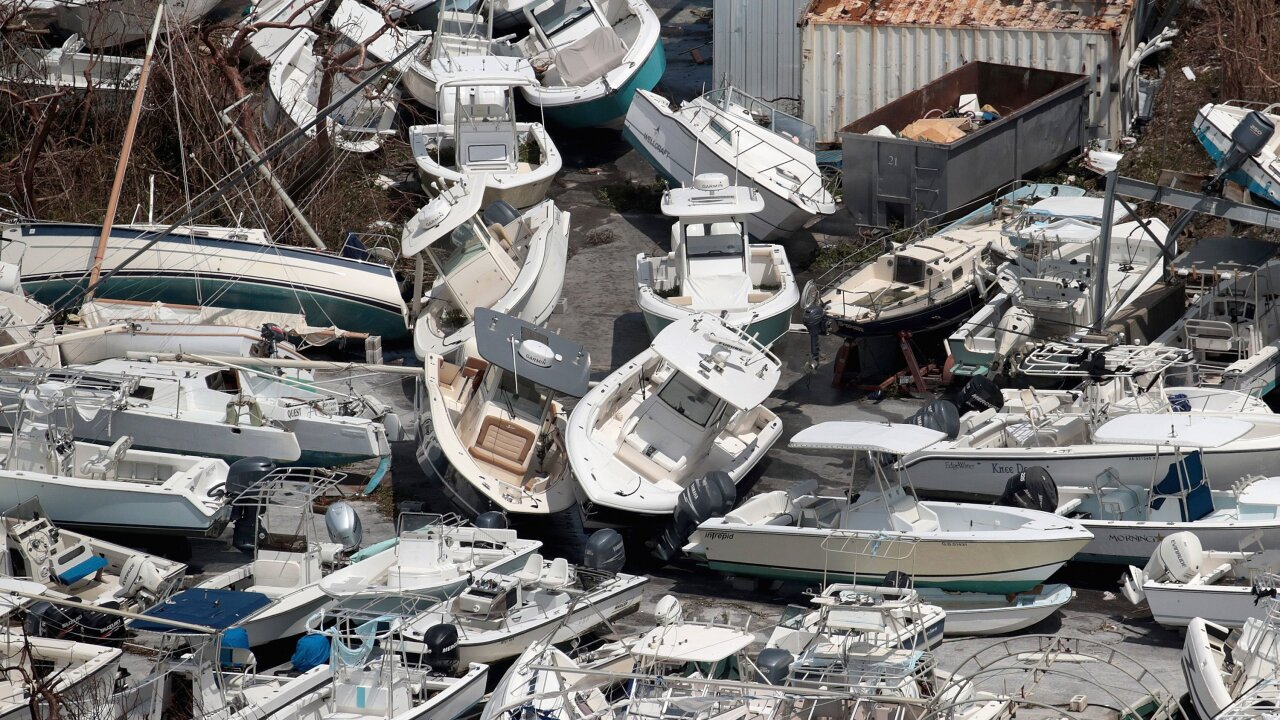 Bahamians look for way off storm-ravaged island as death toll climbs to 43