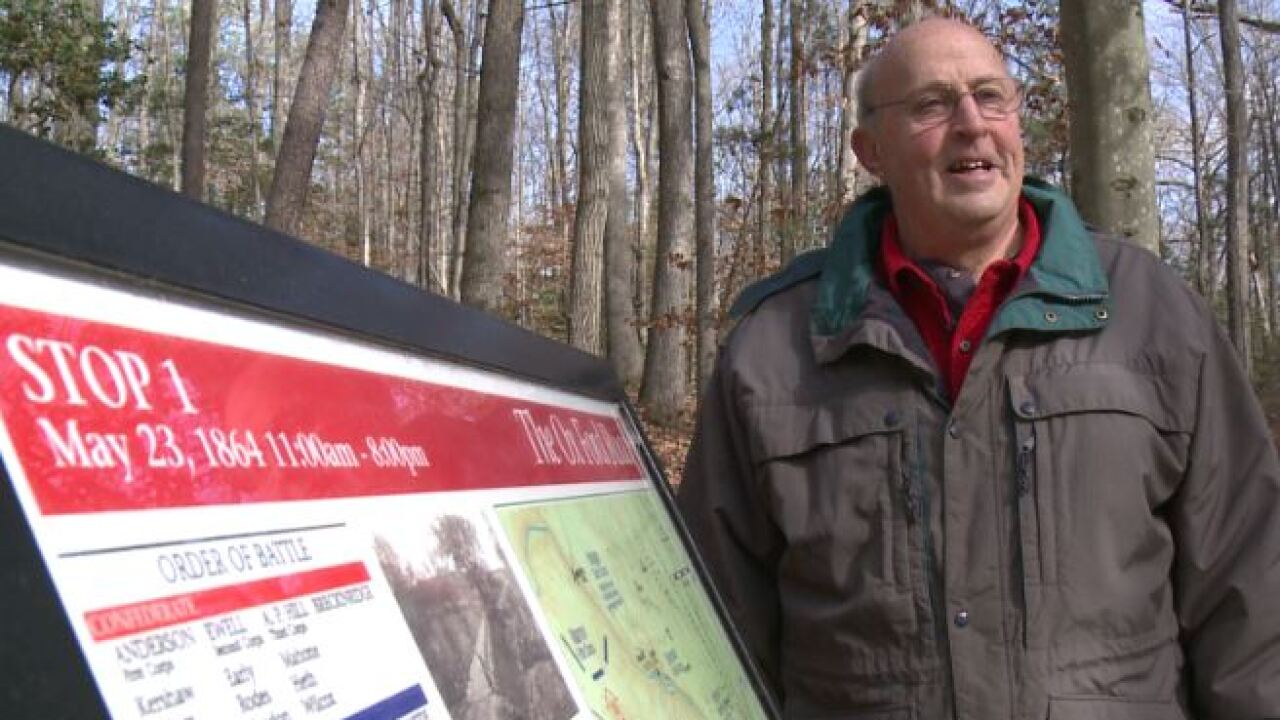 Hanover man praised for saving land where thousands died in bloody Civil War battle