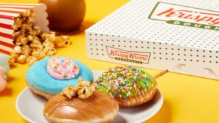 Krispy Kreme's Latest Doughnut Collection Is Carnival-Themed