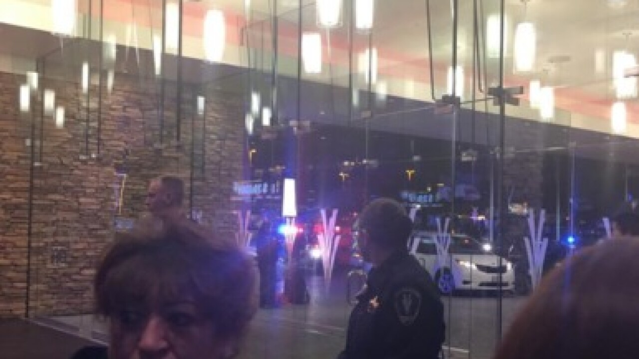 Officer-involved shooting at California casino