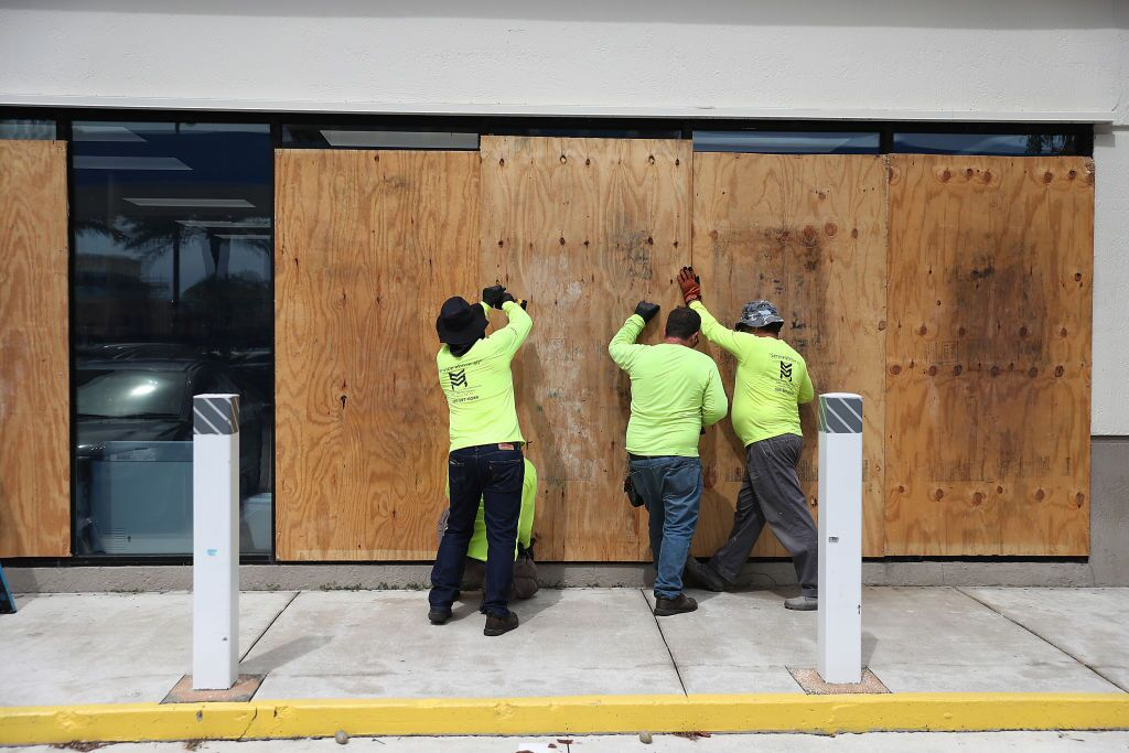 PHOTOS: Florida prepares for Hurricane Dorian, now a major storm