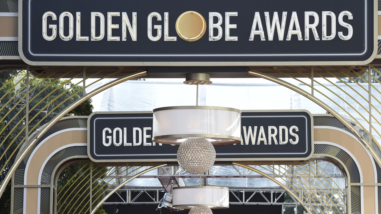 Golden Globes Laydown