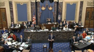 Watch: Senate impeachment trial enters second day of openingarguments