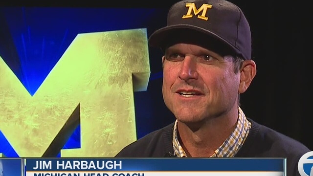 Inside the Huddle with Jim Harbaugh: Speight's growth, Tom