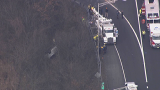 Route 24 in New Jersey crash