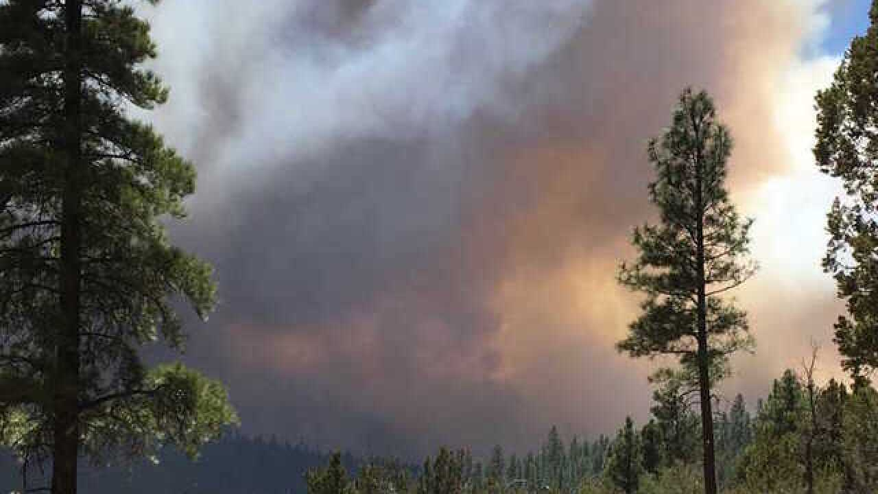 Evacuations ordered for Tinder Fire in Arizona