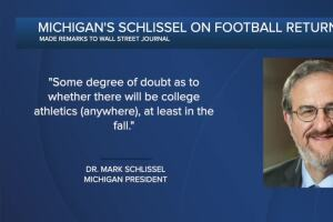 A fall without Michigan football? Could be, if students don't return.