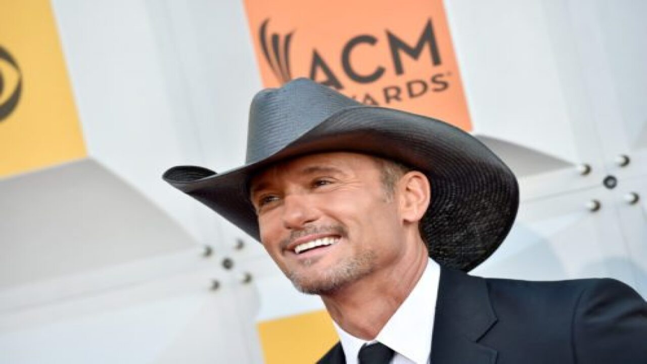 Tim McGraw Just Announced A New 30-city Stadium Tour