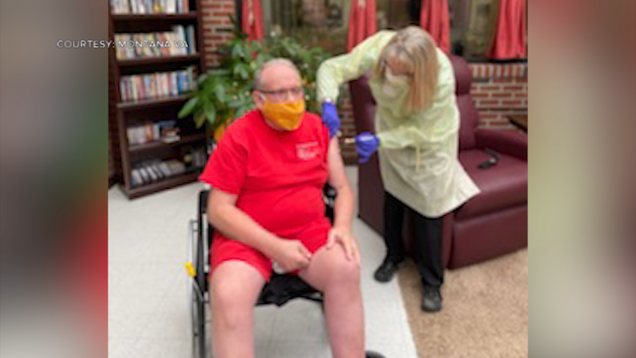 Vaccination efforts at Montana VA's Miles City Community Living Center