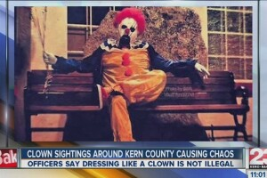 Are scary clowns in city and on television spurring fears?