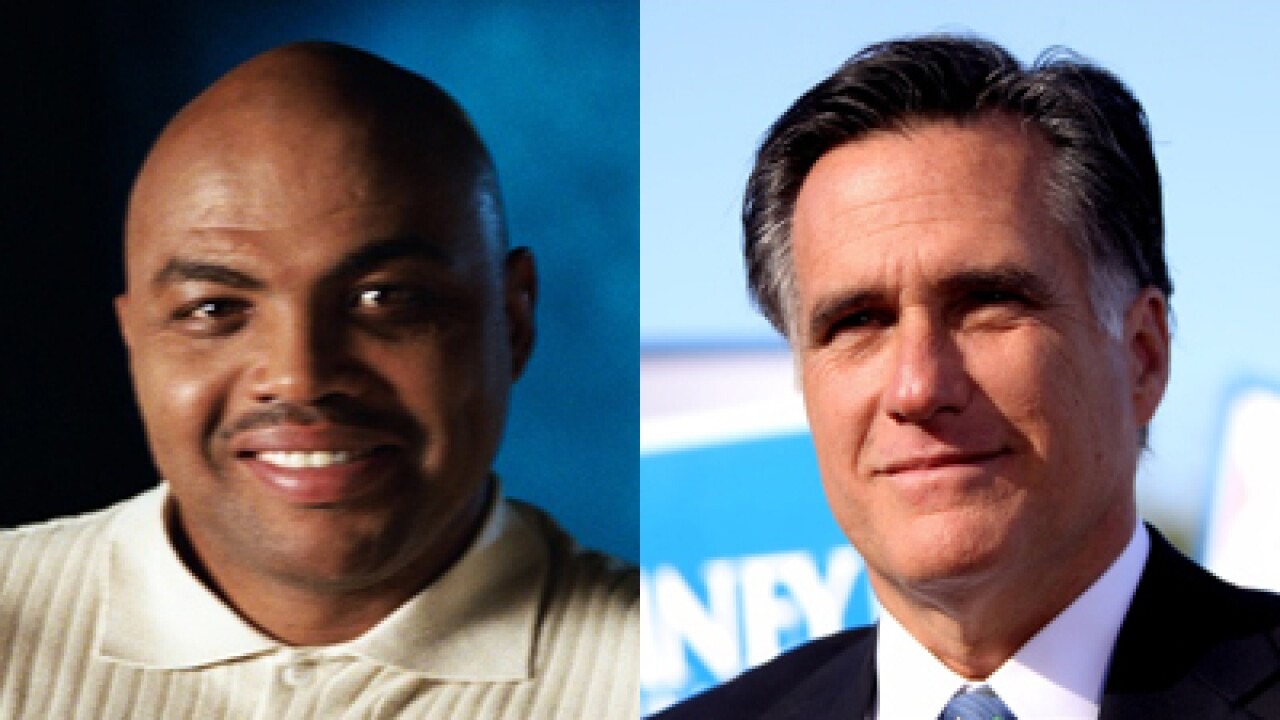 Barkley to Romney: 'We're going to beat you like a drum'