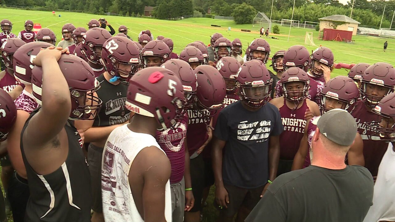 Final Score Friday 2018 Football Preview: Thomas Dale Knights