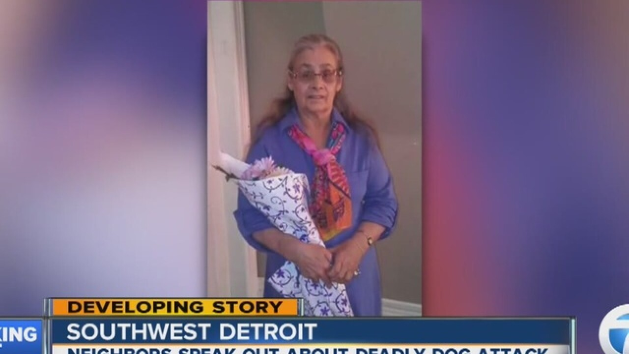 71-year-old woman mauled to death by pit bulls