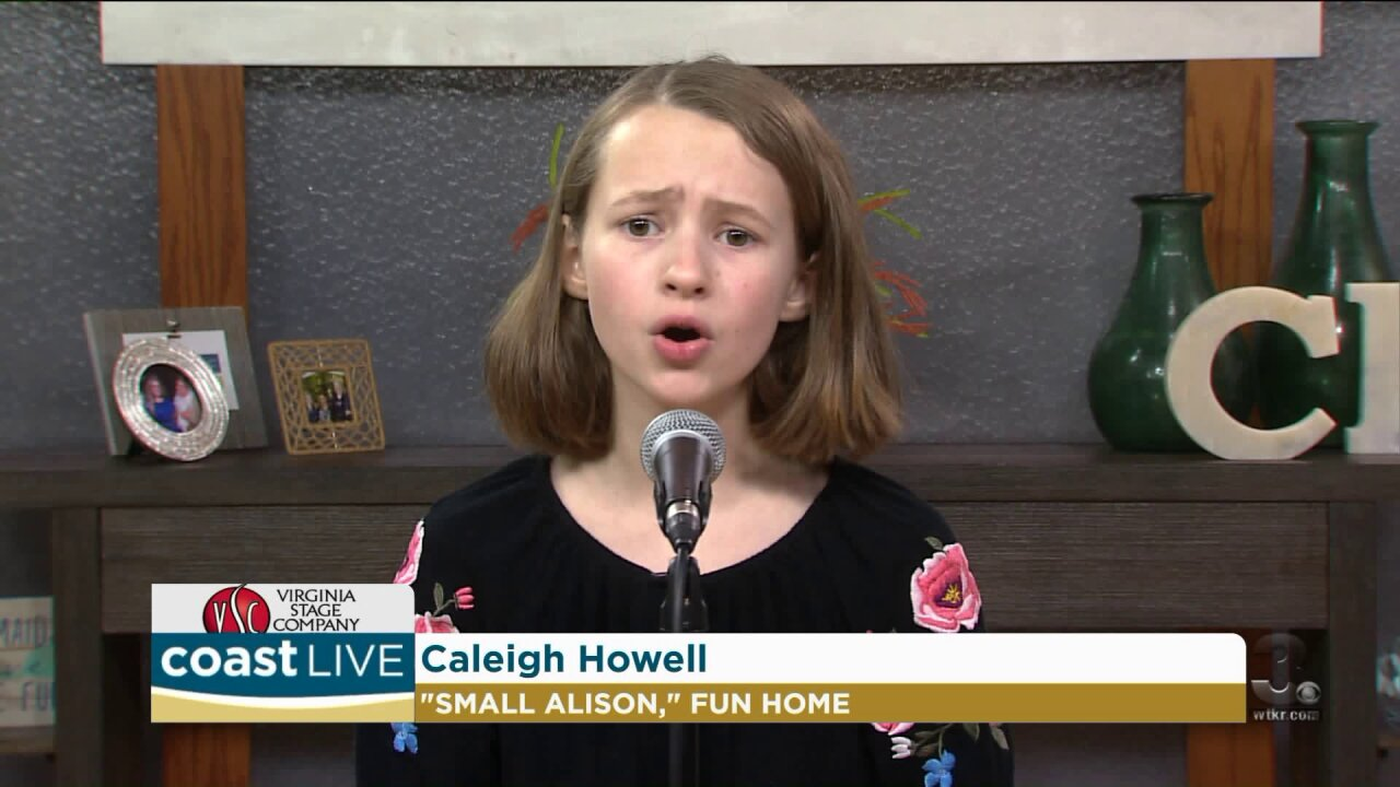 """A performance from the coming of age and coming out play """"Fun Home"""" on CoastLive"""
