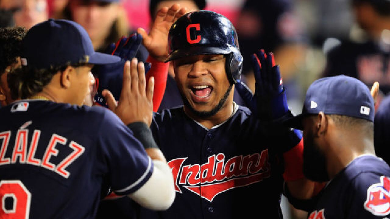 VIDEO: Edwin Encarnación hits jaw-dropping inside-the-park home run against the Angels