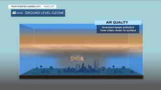 ground level ozone