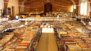 Central Christian Church book sale