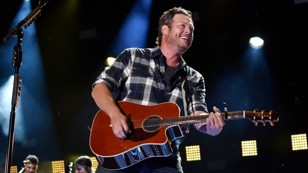 Blake Shelton releases first song since divorce with Miranda Lambert