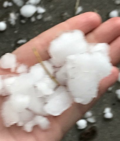 GALLERY: Spring thunderstorm brings wind, rain and hail to Colorado