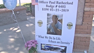 Officer Paul Rutherford Visitation