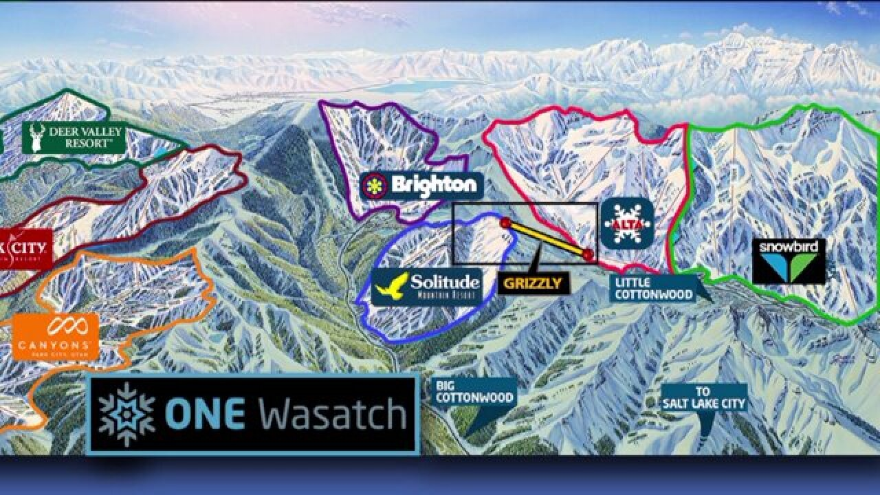 'One Wasatch' plan aims to connect 7 ski resorts in Utah