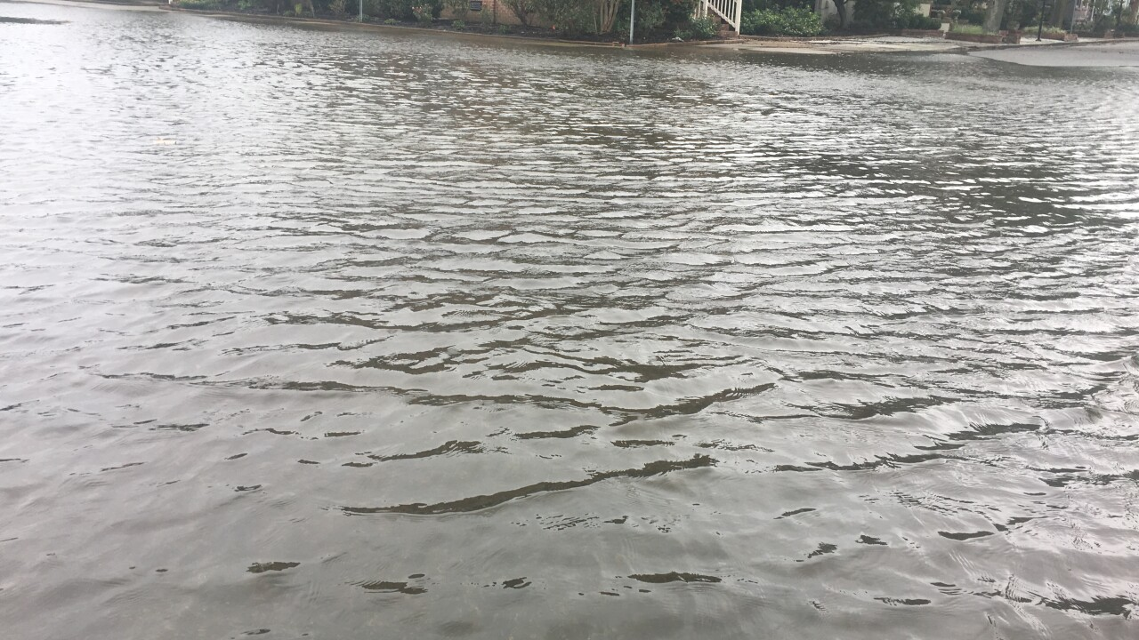 Flooding already hits Norfolk as Hurricane Florence stirs through parts of the coast